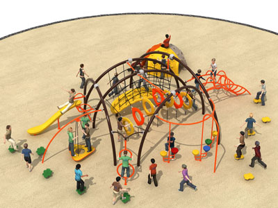 Patio de cuerdas